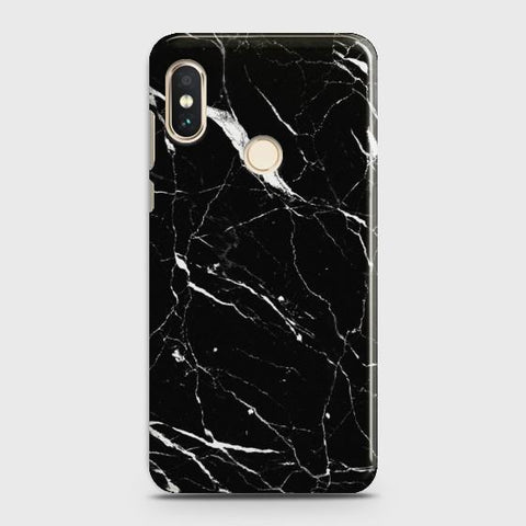 XIAOMI REDMI NOTE 6 PRO Trendy Black Marble Case
