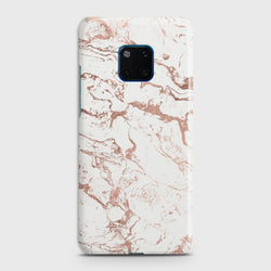 Huawei Mate 20 Pro Chick RoseGold Marble Case