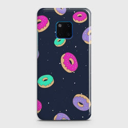Huawei Mate 20 Pro Colorful Donuts Case