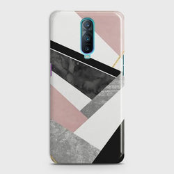 Oppo R17 Pro Geometric Luxe Marble Case