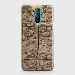 OPPO R17 PRO Army Costume With Custom Name Case