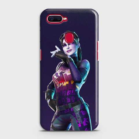 OPPO A7 Fortnite Lady Warrior Case