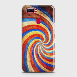 OPPO A7 Twisted Fantasy Stripes Case
