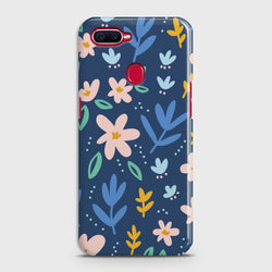 OPPO A7 Colorful Flowers Case