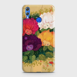 Huawei P Smart 2019 Sparkel Flower Eye Candy case