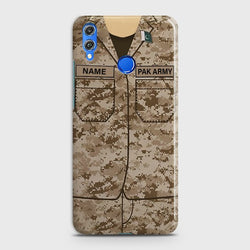 Huawei P Smart 2019 Army Costume With Custom Name Case