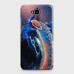 Huawei Y6 Pro 2017 Peacock Diamond Embroidery Case
