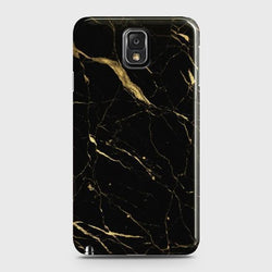 SAMSUNG GALAXY NOTE 3 Classic Golden Black Marble Case