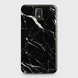 SAMSUNG GALAXY NOTE 3 Trendy Black Marble Case