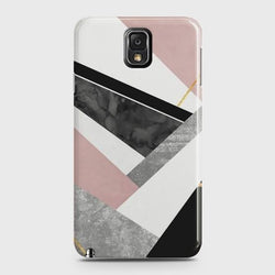 SAMSUNG GALAXY NOTE 3 Geometric Luxe Marble Case