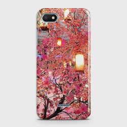 XIAOMI REDMI 6A Pink blossoms Lanterns Case