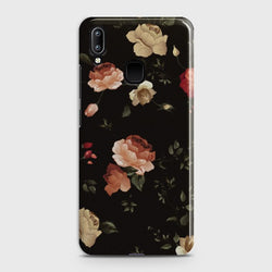 VIVO Y95 Dark Rose Vintage Flowers Case