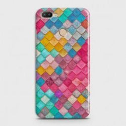 INFINIX HOT 6 PRO Colorful Mermaid Scales Case