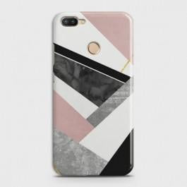 INFINIX HOT 6 PRO Geometric Luxe Marble Case