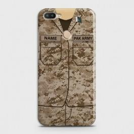 INFINIX HOT 6 PRO Army Costume With Custom Name Case