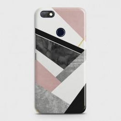 INFINIX NOTE 5 (X604) Geometric Luxe Marble Case