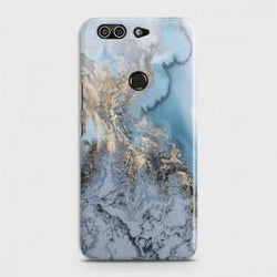 INFINIX ZERO 5 (X603) Golden Blue Marble Case