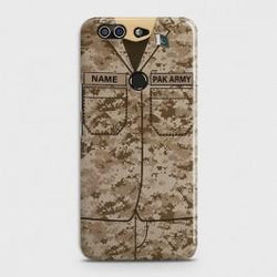 INFINIX ZERO 5 (X603) Army Costume With Custom Name Case