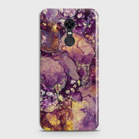 REDMI 5 PLUS Purple Agate Marble Case
