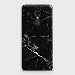 REDMI 5 PLUS Black Marble Classic Case