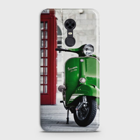 REDMI 5 PLUS Vintage Vespa Case