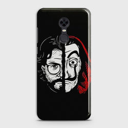 REDMI 5 PLUS MONEY HEIST PROFESSOR Case