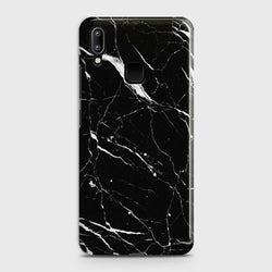 Vivo Y91 Trendy Black Marble Case