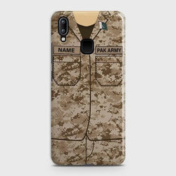 VIVO Y91 Army Costume With Custom Name Case