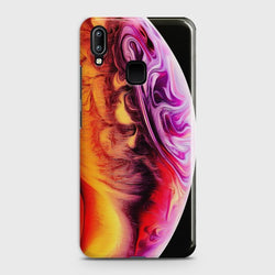 VIVO Y91 Texture Colorful Moon Case