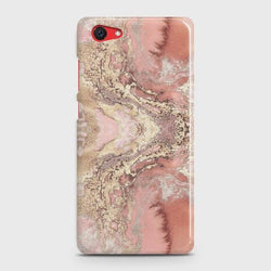VIVO Y71 Trendy Chic Rose Gold Marble Case