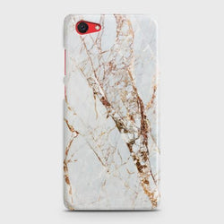 VIVO Y71 White & Gold Marble Case