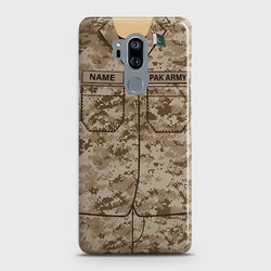LG G7 THINQ Army Costume with Name Case