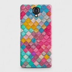 Infinix Note 4 (X572) Colorful Mermaid Scales Case