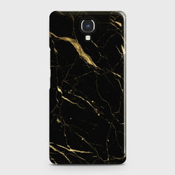 INFINIX NOTE 4 (X572) Classic Golden Black Marble Case