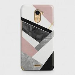 INFINIX HOT 4 (X557) Geometric Luxe Marble Case