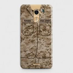 INFINIX HOT 4 (X557) Army Costume With Custom Name Case
