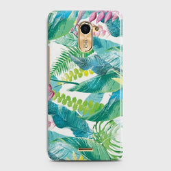 INFINIX HOT 4 (X557) Retro Palm Leaves Case