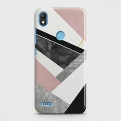 INFINIX SMART 2 (X5515) Geometric Luxe Marble Case