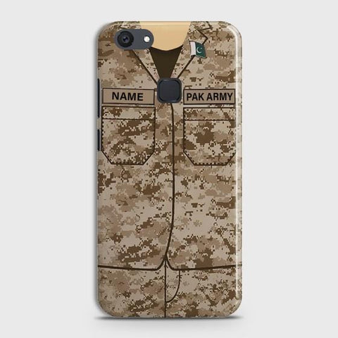 VIVO Y81 Army Costume With Custom Name Case