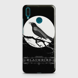 Huawei Y7 2019 Rendering Black Bird Case
