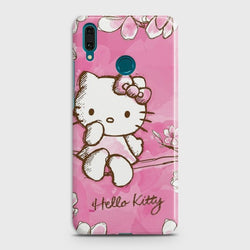 Huawei Y7 2019 Hello Kitty Cherry Blossom Case