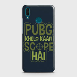 HUAWEI Y7 PRIME (2019) PUBG Scope Case
