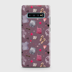 SAMSUNG GALAXY S10 Plus Casual Summer Fashion Design Case