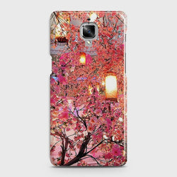 ONEPLUS 3/3T Pink blossoms Lanterns Case