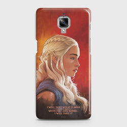 ONEPLUS 3/3T Danaerys Dragon Queen GOT Case