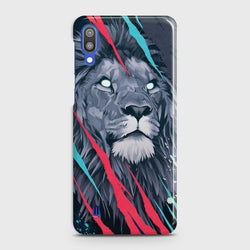 SAMSUNG GALAXY M10 Abstract Animated Lion Case