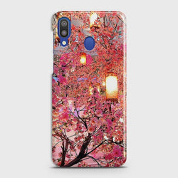 SAMSUNG GALAXY M20 Pink blossoms Lanterns Case