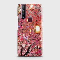 VIVO V15 Pink blossoms Lanterns Case