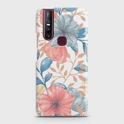VIVO V15 Seamless Flower Case