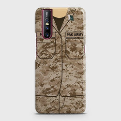 VIVO V15 PRO Army Costume with custom Name Case
